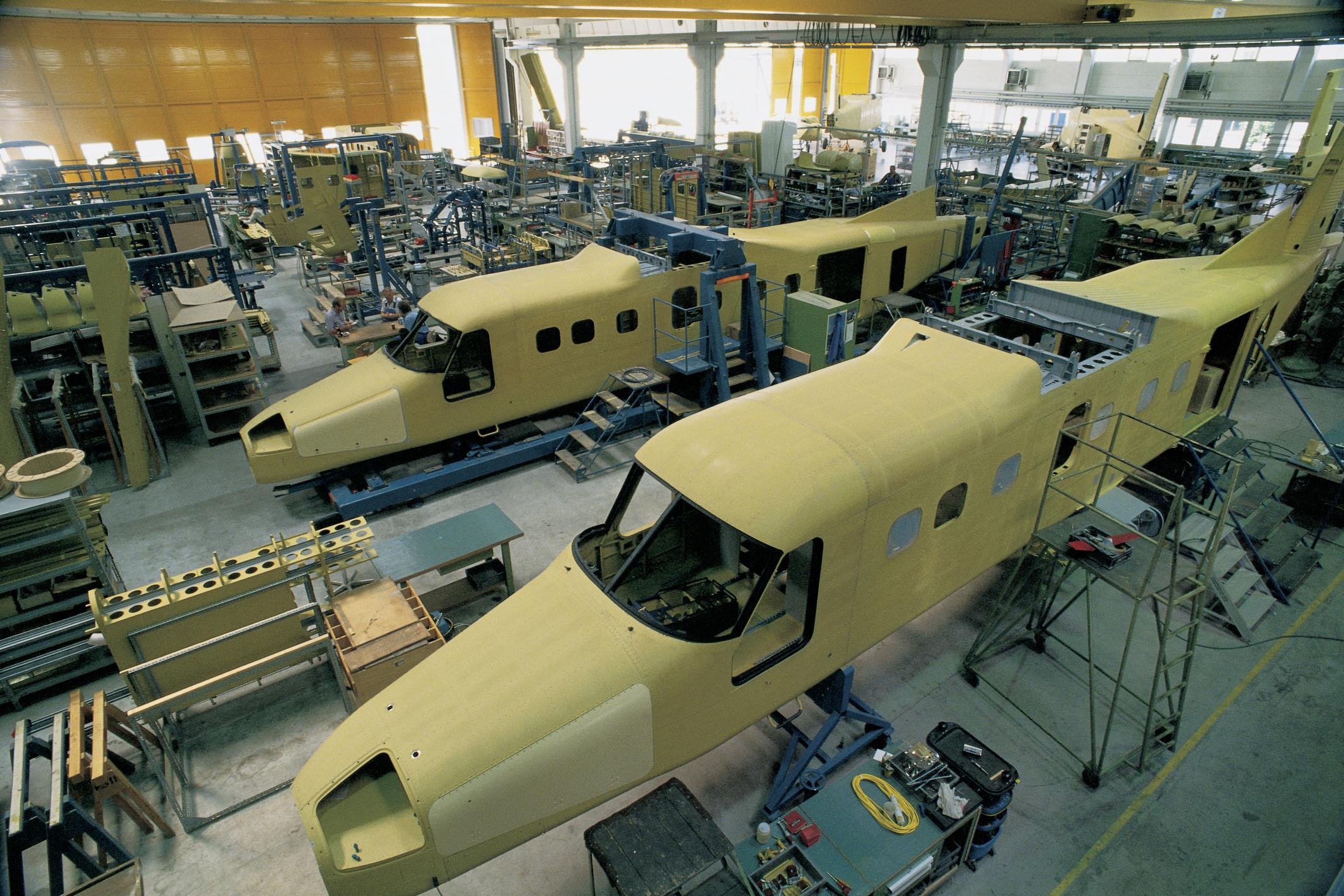 Dornier aircraft manufacturing facility
